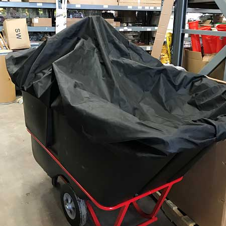 environmental tall flexible tilt truck cover